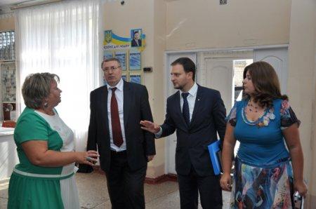 Зустріч із заступником міністра освіти і науки України Жебровським Б. М.
