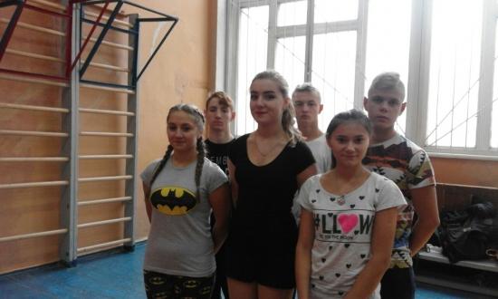 Обласні змаганння з гімнастичного триборства