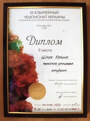Нагороди за 2017 р.